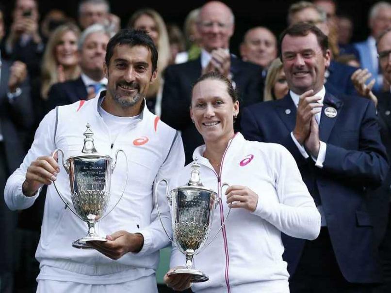 Wimbledon 2014: Nenad Zimonjic, Samantha Stosur Win Mixed Doubles Title