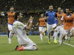 FIFA World Cup: Georgios Samaras' Injury Time Penalty Sends Greece Into Round of 16