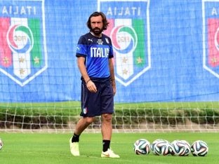 FIFA World Cup: Andrea Pirlo Lets His Feet do Talking for Italy