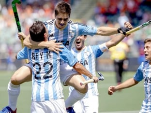 Hockey World Cup: Argentina Thrash South Africa to Reach Maiden Semifinal