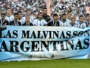 FIFA World Cup: Argentina Make Falklands Protest After Win in Warm-up Tie