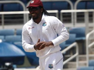 Chris Gayle Hopes to Score Big as West Indies Fight to Save Jamaican's 100th Test