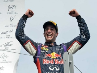 Daniel Ricciardo Wins Canadian Grand Prix