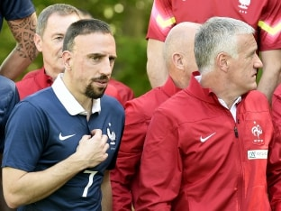 FIFA World Cup: France Rule Out Injured Franck Ribery