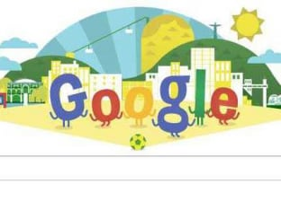 Google Doodle 'Scores' a Winner, Welcomes FIFA World Cup 2014