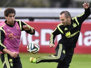 FIFA World Cup: Andres Iniesta Rallies Spain for Chile Combat