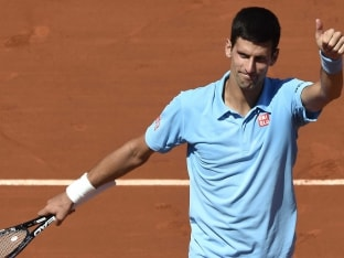 Novak Djokovic is chasing his first French Open title