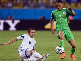 FIFA World Cup: Nigeria's Prodigal Son Odemwingie Basks in Glory