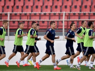 Russia coach Fabio Capello is upbeat about his teams chances in the upcoming mega event