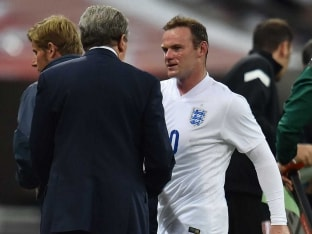 FIFA World Cup: England Coach Roy Hodgson To Give Wayne Rooney Chance to Build Sharpness