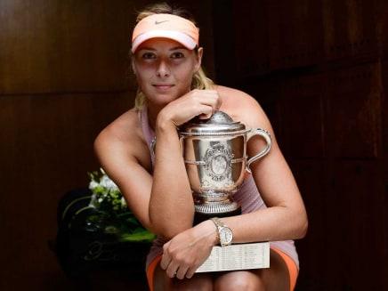 French Open: Maria Sharapova Overcomes Simona Halep to Win Fifth Grand Slam Title