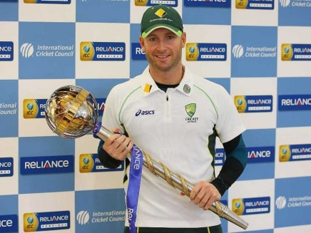 No. 1 Australia Receive International Cricket Council Test Mace, India 5th