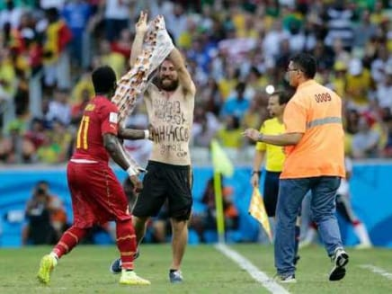 FIFA WC: Pitch Invader Was Neo-Nazi Sympathiser, Says Report