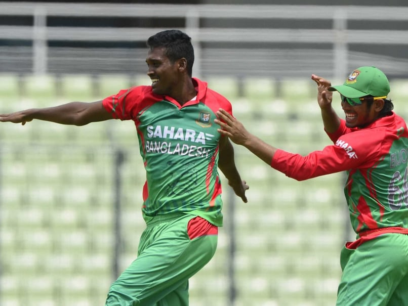 Bangladesh's Al-Amin Reported for Suspect Bowling Action