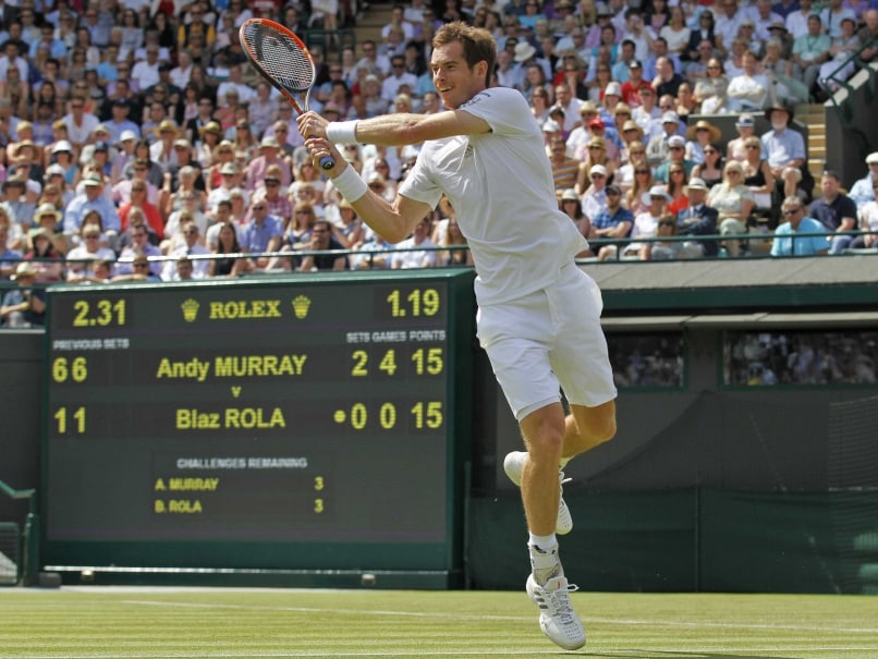 Football Threat to Defending Champion Andy Murray at Wimbledon