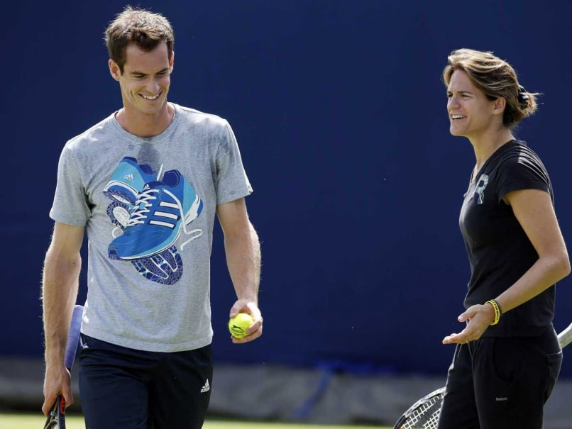 Andy Murray Makes Winning Start With Coach Amelie Mauresmo at Queen's