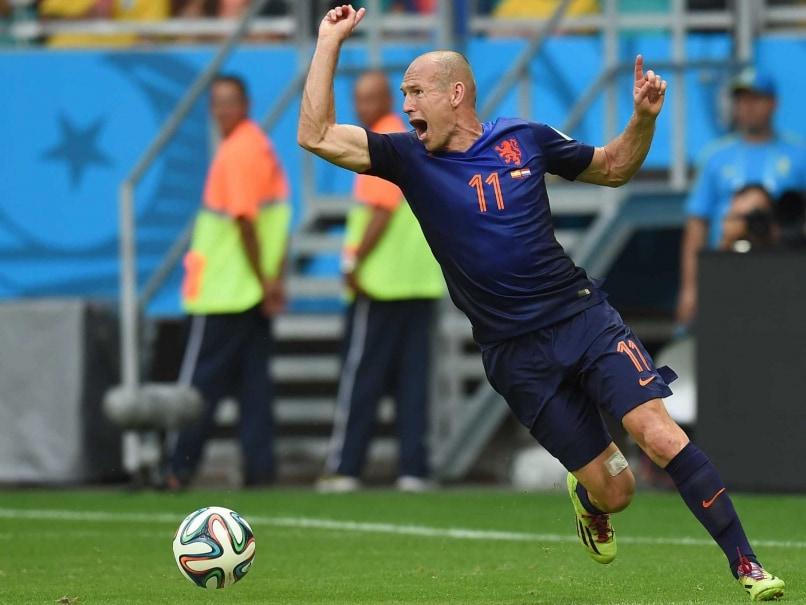 Arjen Robben FIFA WC 14