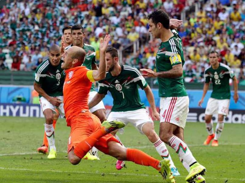 Netherlands vs Mexico: Arjen Robben Sorry for World Cup Dive, But Insists Penalty Was Right