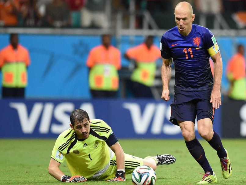 FIFA World Cup 2014: Spain Defence Implodes in Heaviest Loss Since 1950