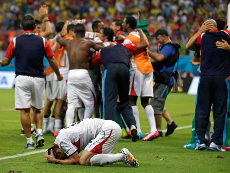 World Cup 2014 Highlights: Costa Rica Defeat Greece on Penalties, Storm Into Quarters