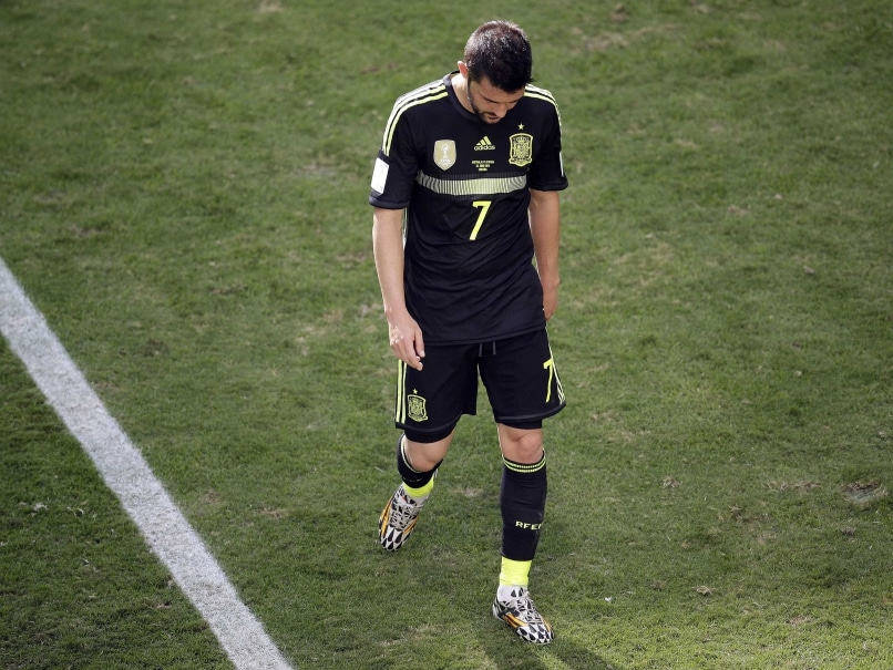 David Villa's Tearful End to Spain Career