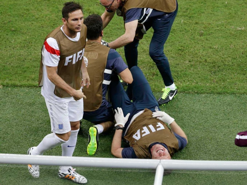 FIFA World Cup: England Physio Injured During Goal Celebration