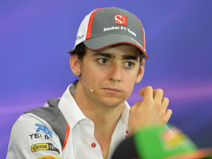 Sauber's Esteban Gutierrez Gets 10-Place Grid Penalty