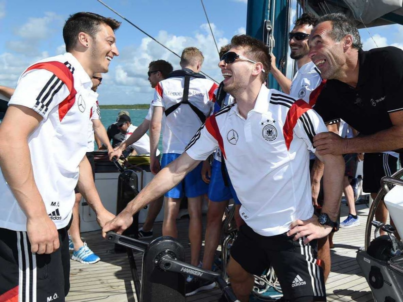 FIFA World Cup: German Team Gets a Visit From Explorer Mike Horn