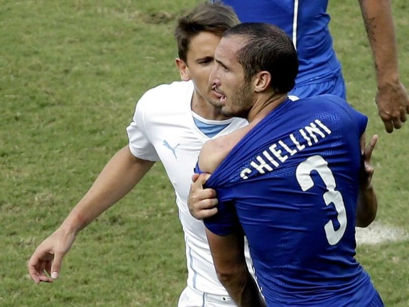Luis Suarez Bite Victim Giorgio Chiellini Feels Ban 'Excessive'