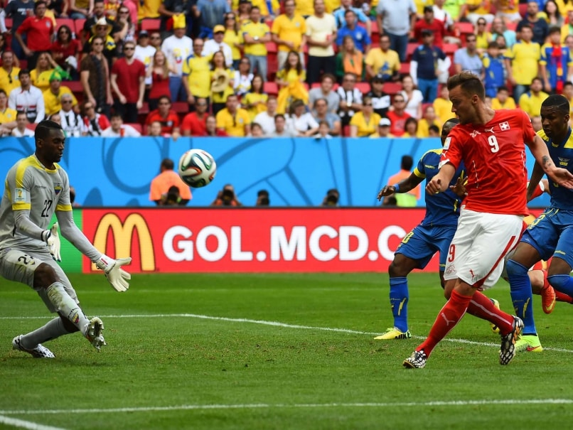 FIFA World Cup: Haris Seferovic's Stoppage Time Goal Hands Switzerland Win Over Ecuador