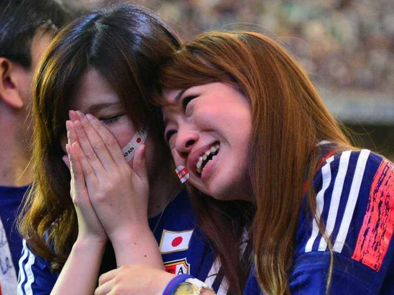 Japan football fans 2