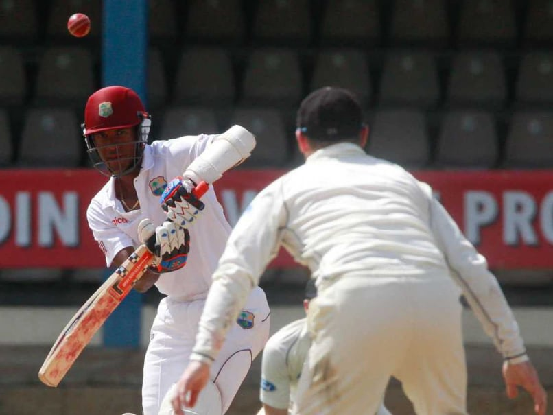3rd Test: Rain Restricts West Indies to 169 for Two Against New Zealand on Day 2