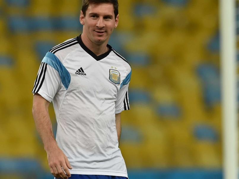 Lionel Messi WC 14