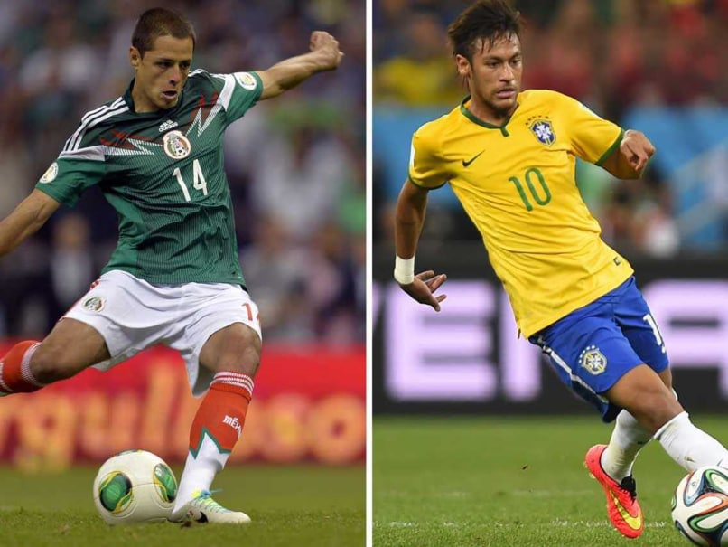 FIFA World Cup Preview: Brazil Train Guns on 'Revamped and Revived' Mexico