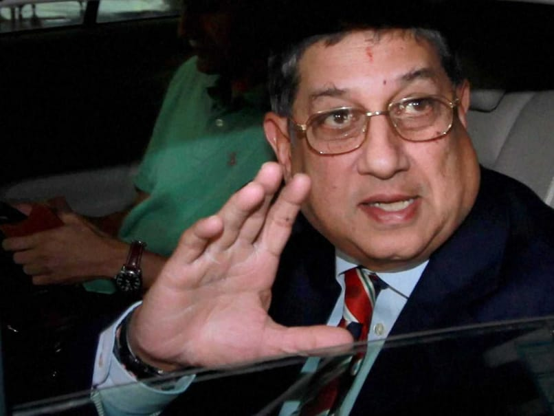 Players Reporting Suspicious Bookie 'Approach' Good News: N. Srinivasan Tells NDTV