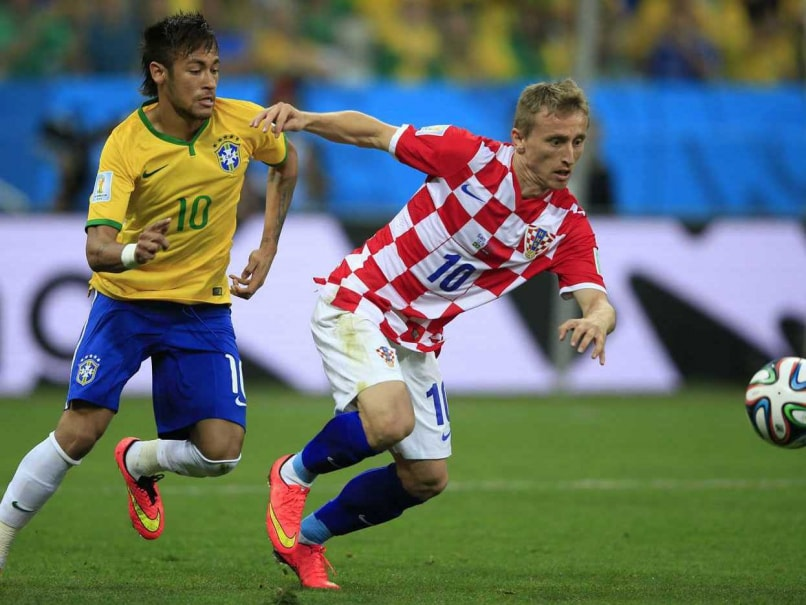Croatia Midfielder Luka Modric Out for up to Three Weeks