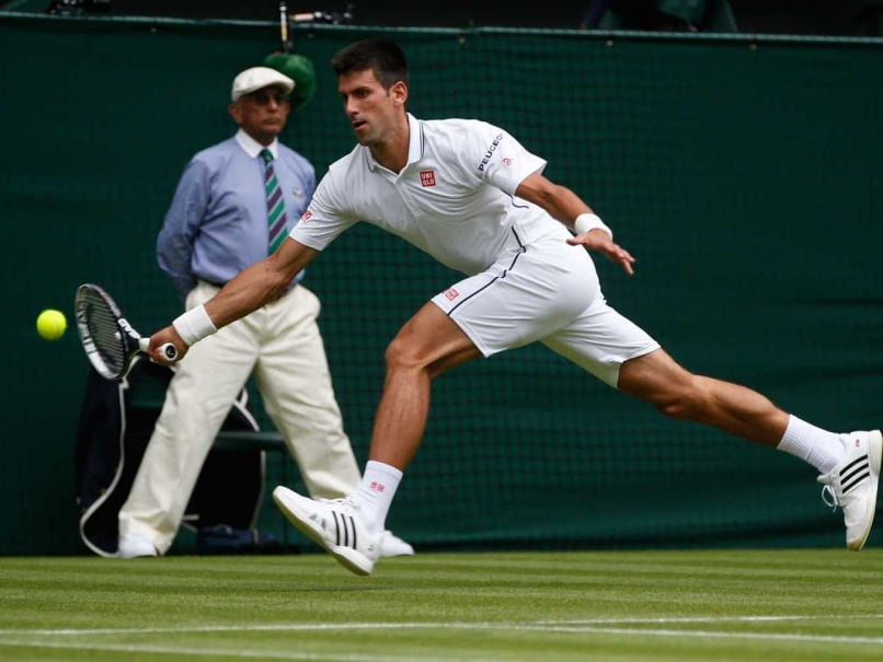 Top Seed Novak Djokovic Races Into Second Round of Wimbledon