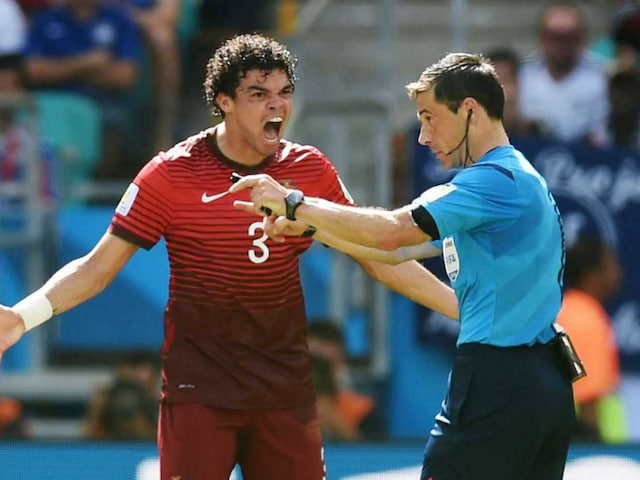 FIFA World Cup: Pepe Red Card Hotter on Twitter Than Lionel Messis Goal