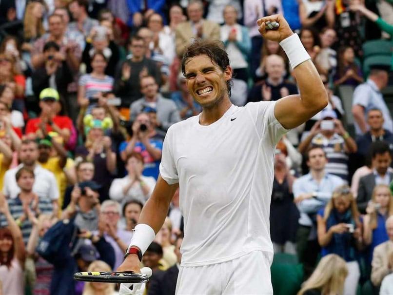Rafael Nadal Shines as Rain Swamps Wimbledon