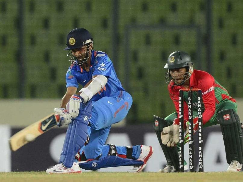 1st ODI: Ajinkya Rahane, Robin Uthappa Hit Fifties as India Beat Bangladesh by 7 wickets