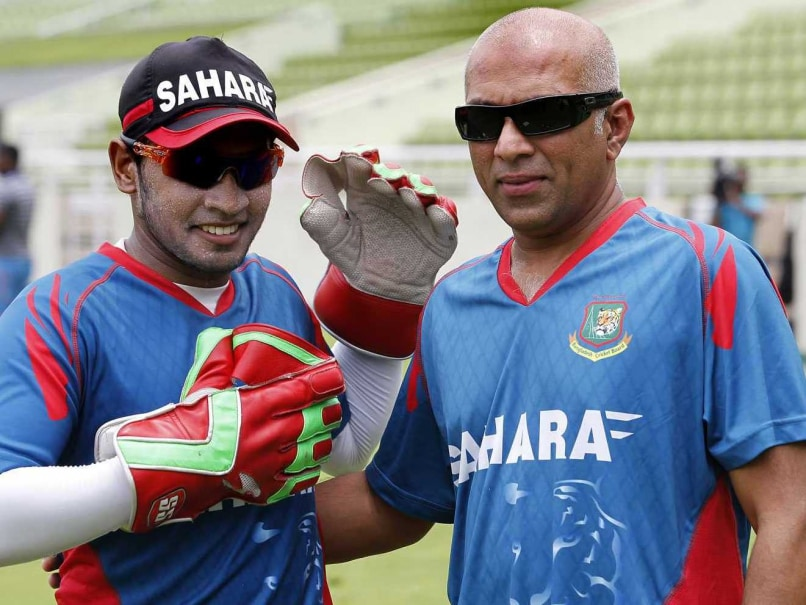 Mushfiqur Rahim and Chandika Hathurusinghe