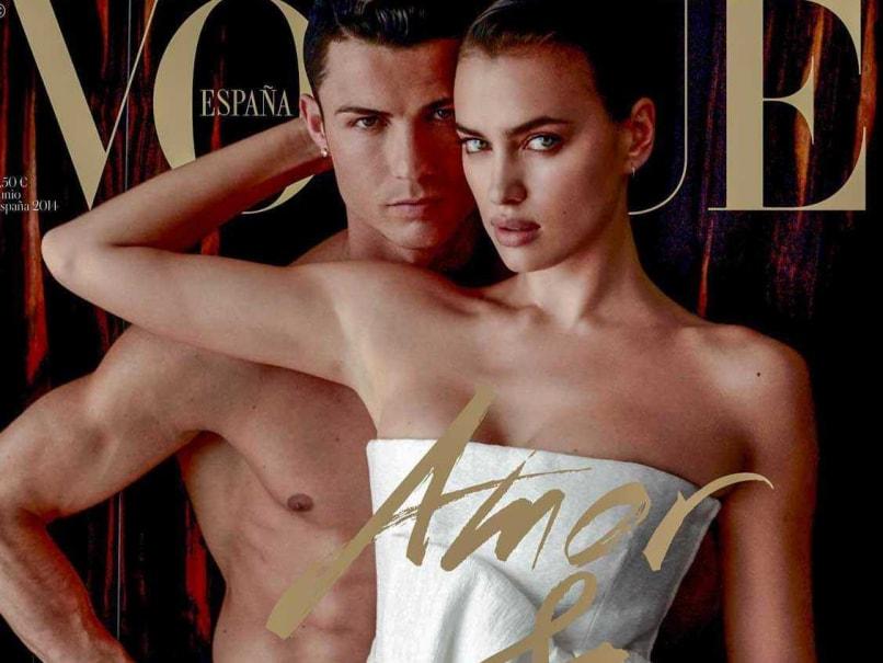 Ronaldo Irina Vogue