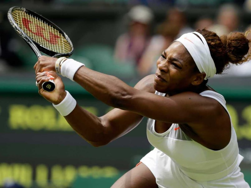 Wimbledon: Fired-up Serena Williams in No Mood for Small Talk