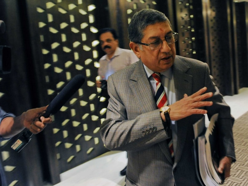 No India Walkout Threat to ICC, Says N Srinivasan