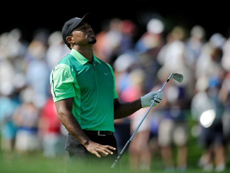 Tiger Woods Struggles in First Round of US PGA National