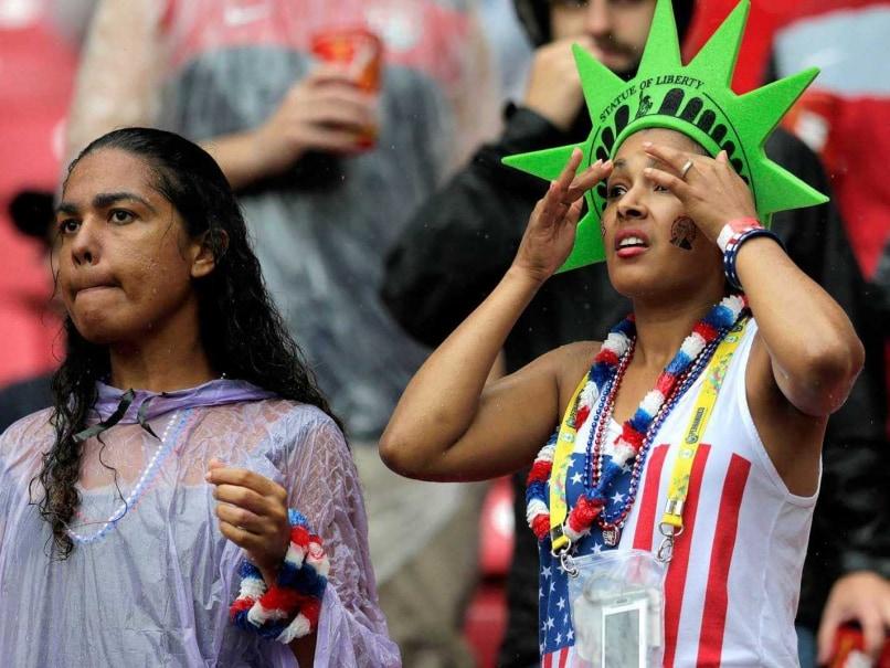 USA fans germany