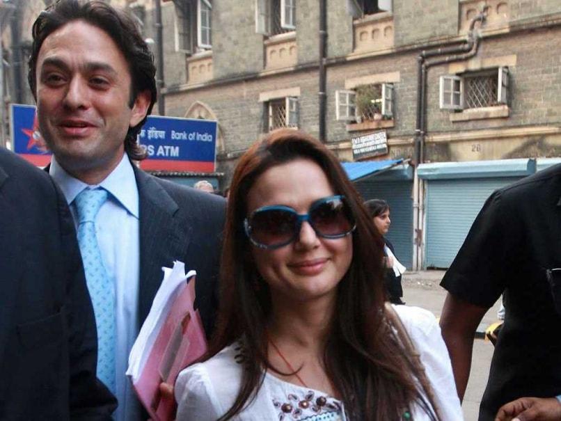 Ness Wadia and Preity Zinta