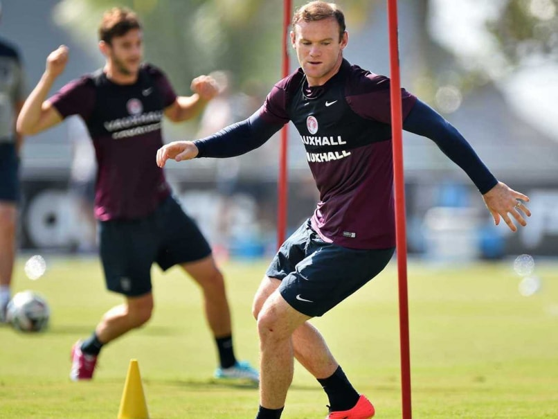 Wayne Rooney training session