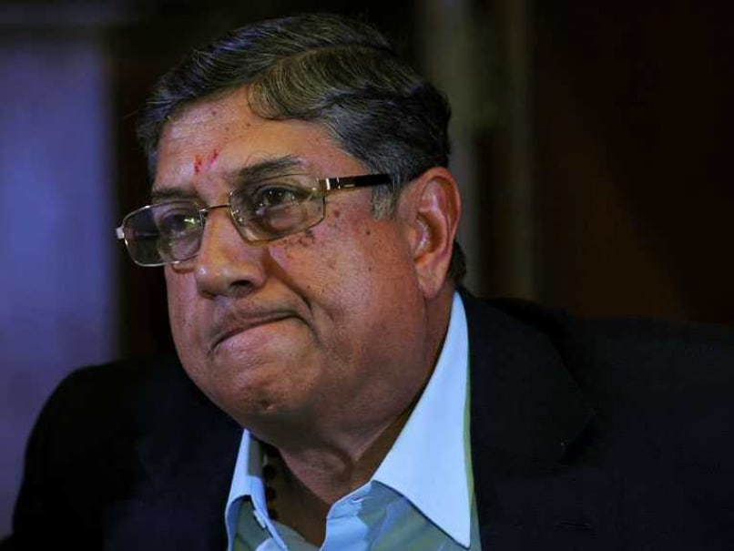 N.Srinivasan Drops in at Jagmohan Dalmiya's Residence, Donates Rs 1 crore to NGO
