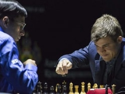 World Chess Championship: Magnus Carlsen Draws Game 10 vs Viswanathan Anand, Inches Closer to Title